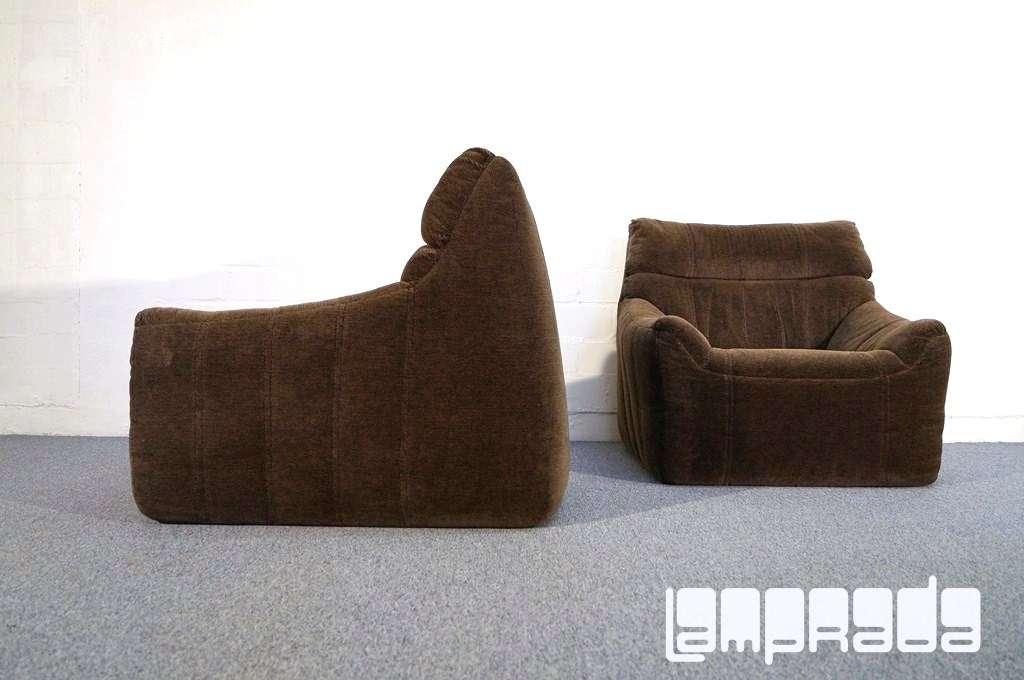 2x von 4 sesseln sofa rolf benz komplett polsterweich im for Sofa 70er stil