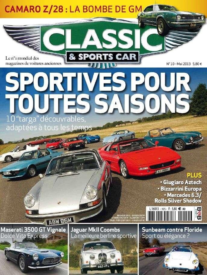 Classic & Sports Car N°10 Mai 2013