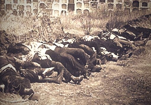 Fusilados por Franco