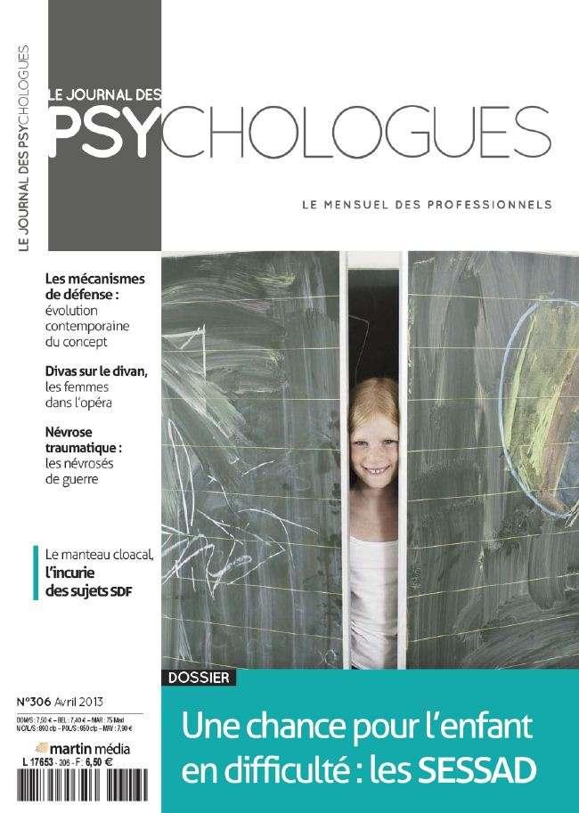 Le Journal des Psychologues N°306 Avril 2013