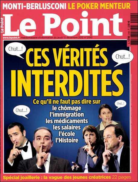 Le Point N°2100 du 13 au 19 Décembre 2012